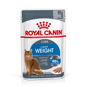 Lot mousse Light - Royal Canin - 12 X 85 g - 1 + 1 boîte à -60%