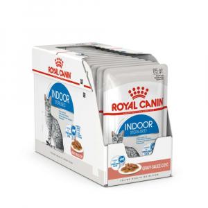 Lot émincés en sauce Indoor - Royal Canin - 12 X 85 g - 1 + 1 boîte à -60%