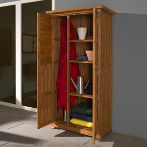 Armoire en bois pour terrasse  - 43 X 80 X 180 cm