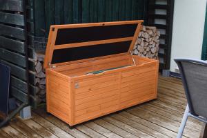 Coffre en bois pour terrasse - 150 X 56cm