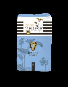 Farine de blé noir harpe noire - IGP Bretagne - 1 kg