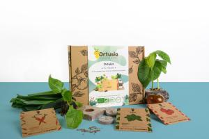 Kit En famille - Graines Bio - Ortusia