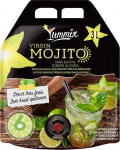 Mojito sans alcool - Poche de 3 litres