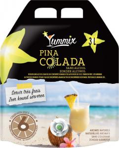 Pina colada sans alcool - Poche de 3 litres