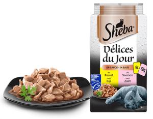 Repas en sauce Terre&Mer- Sheba - 6X50 g
