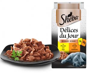 Repas en sauce Volaille - Sheba - 6X50 g