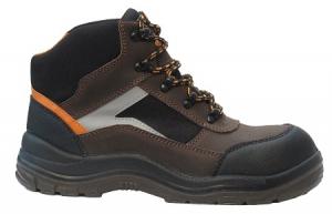 Chaussure haute S3 Alpha - Solidur - Pointure 38 - Marron