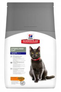 Aliment chat Science Plan Feline Mature Adult 7+ Chat Stérilisé au Poulet - Hill's - 1,5 Kg
