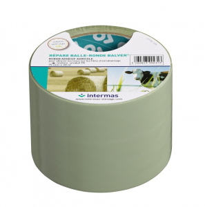 Ruban adhésif Répare balle ronde - CELLOPLAST - Vert clair - 75 mm x 20 m
