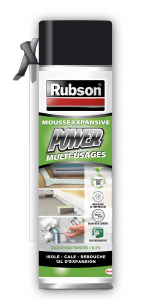 Mousse expansive - Rubson - Power Multi-usages - 300 ml