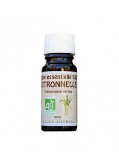 Huile essentielle de citronnelle  Bio -10 ml