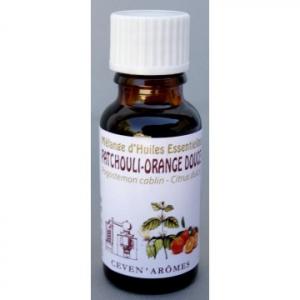 Mélange d'huiles essentielles Patchouliet orange douce - 20 ml