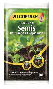 Terreau semis et bouturage - Algoflash - 6 L