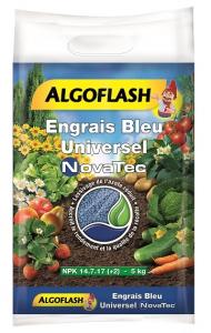 Engrais bleu Novatec - Algoflash - Sac 5 kg