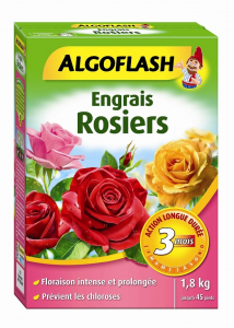 Engrais rosiers - Algoflash - Boîte 1,8 kg
