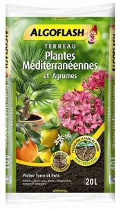Terreau pour plantes méditerranéennes - Algoflash - 20 L