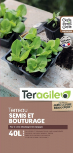 Terreau semis et bouturage Teragile BIOLANDES PIN DECOR - 40 L