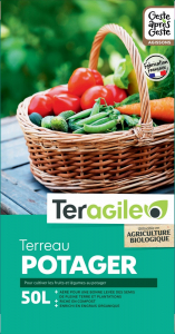 Terreau potager UAB Teragile BIOLANDES PIN DECOR - 50 L