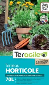 Terreau horticole UAB Teragile BIOLANDES PIN DECOR - 70 L