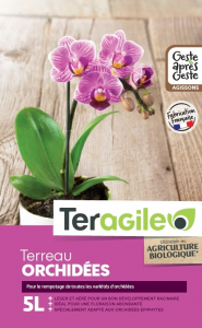Terreau orchidées Teragile BIOLANDES PIN DECOR - 5 L