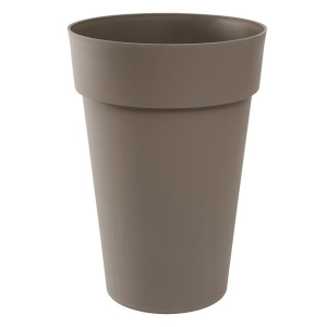Pot - Toscane - Rond - 67 L - Taupe