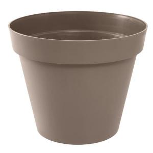Pot - Toscane - Rond - 76 L - Taupe