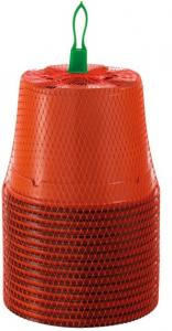 Pots ronds plastiques - Romberg & co - Ø13 - Lot de 15