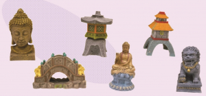 Figurines Asie - 15 cm