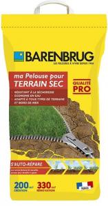 Gazon terrain sec - Barenbrug - 5kg