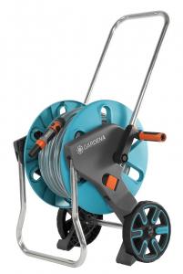 Dévidoir sur roues équipé Aquaroll M GARDENA - Tuyau 25 m