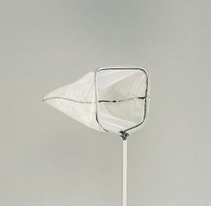 Epuisette avec manche aluminium - Ubbink - Petites mailles - 100 cm