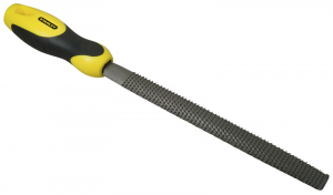 Râpe demi-ronde - moyenne piqûre - 200 mm - Stanley