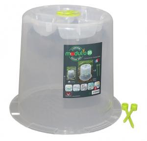 Cloche transparente - MV Industrie - Ø35 - Hauteur 30