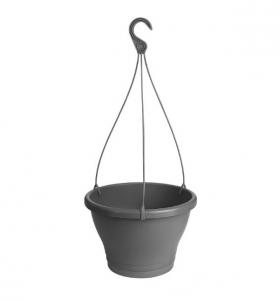 Pot Corsica Suspension - Elho - 30 cm - Anthracite