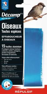 Effaroucheur Oiseaux Décamp' Répulsif CREA - 15 bandes