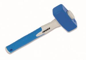 Massette emmanchée droite avec angles abattus - Revex - 29.5 cm