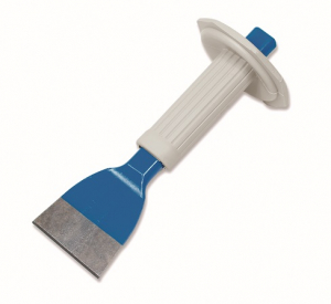 Ciseau à brique plat avec pare-coups - Revex - 23 cm