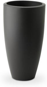 Pot Pure Soft Round High - Elho - gris anthracite - 50 cm