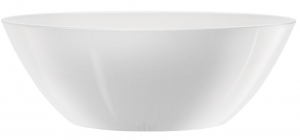 Pot Brussels Diamond Oval - Elho - blanc - 36 cm