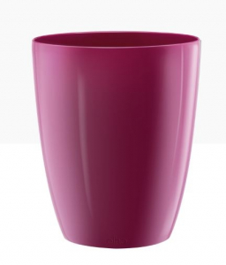 Cache-pot Brussels Diamond Orchid High - Elho - cerise - 12,5 cm