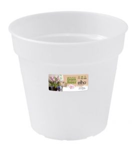 Pot Green Basics Orchidée - Elho - 17 cm - Transparent