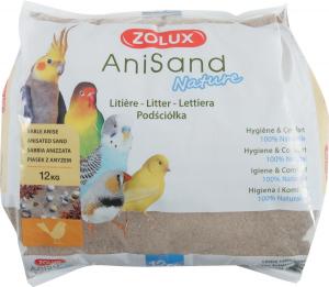 Litière sable anisé 12 kg Anisand Nature pour oiseaux - Zolux
