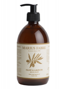 Savon d'Alep liquide, olive & laurier - Marius Fabre - 500 ml