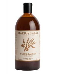 Savon d'Alep liquide, olive & laurier - Marius Fabre - 1 L