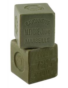 Savon de Marseille huile d'olive - Marius Fabre - 600 g