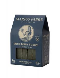 Savon de Marseille à la coupe - Marius Fabre - 1 kg