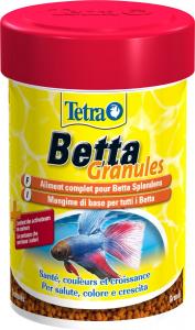 Tetra Betta Granules 85 ml - Aliment complet pour Betta Spendens (combattants)