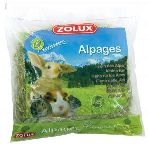 Foin Alpages Premium 500 g pour rongeurs - Zolux