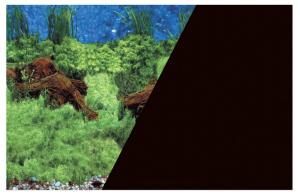 Poster fond décor découpé Racine/noir 60 x 40 cm - Zolux