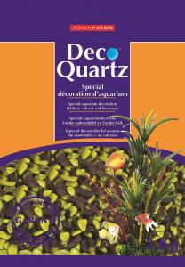 Gravier Choco/vert - Déco Quartz - Aquaprime - 2 kg